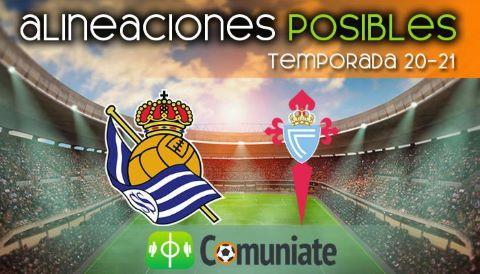 Alineaciones posibles y previa de la Jornada entre Real Sociedad y Celta. Jornada 31.