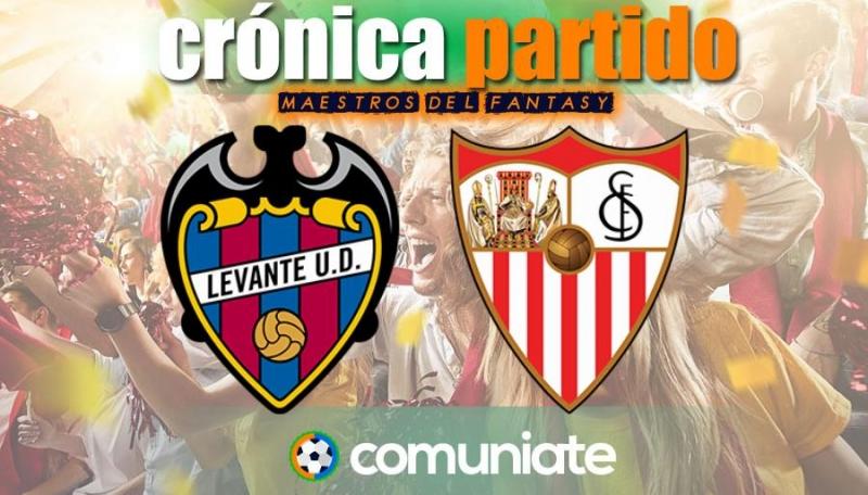 Crónica del partido disputado entre Levante y Sevilla. Jornada 31.