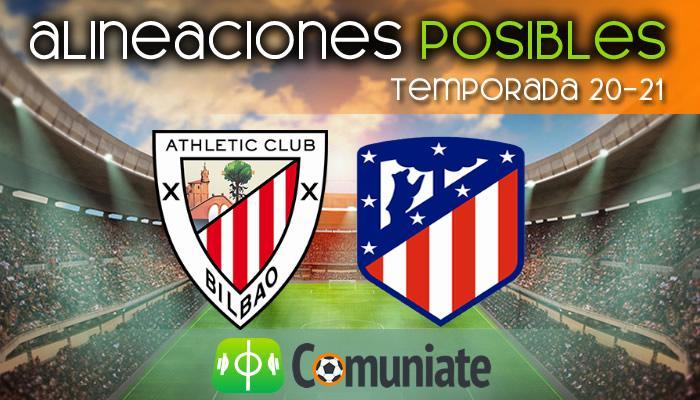 Alineaciones posibles y previa de la Jornada entre Athletic y Atlético. Jornada 32.