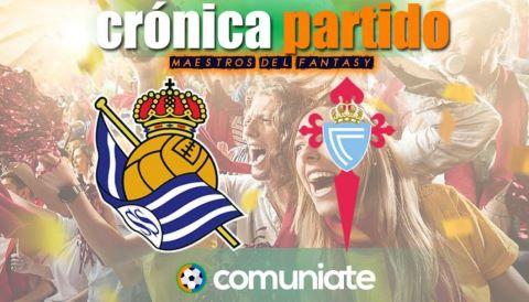 Crónica del partido disputado entre Real Sociedad y Celta. Jornada 31.