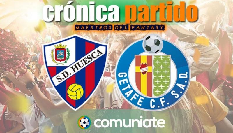 Crónica del partido disputado entre Huesca y Getafe. Jornada 32.