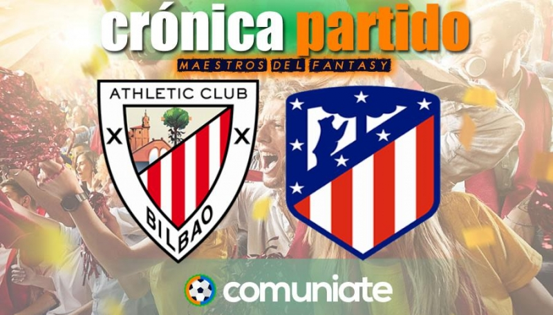 Crónica del partido disputado entre Athletic y Atlético. Jornada 32.