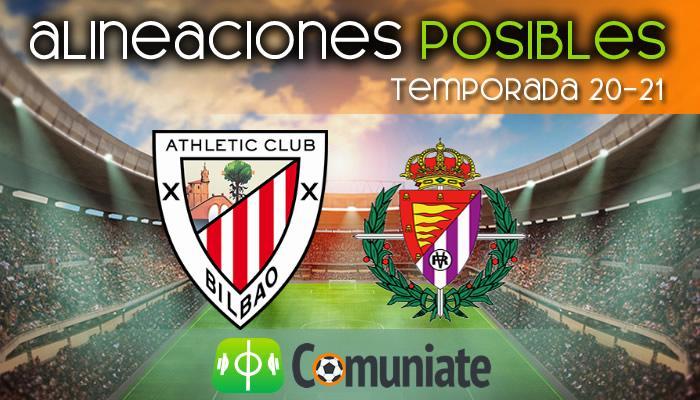 Alineaciones posibles y previa de la Jornada entre Athletic y Valladolid. Jornada 33.