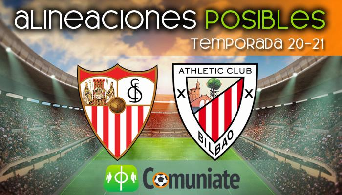 Alineaciones posibles y previa de la Jornada entre Sevilla y Athletic. Jornada 34.
