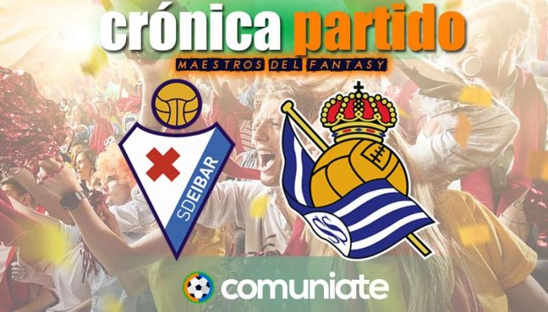 Crónica del partido disputado entre Eibar y Real Sociedad. Jornada 32.