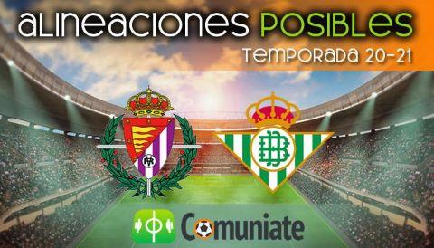 Alineaciones posibles y previa de la Jornada entre Valladolid y Betis. Jornada 34.