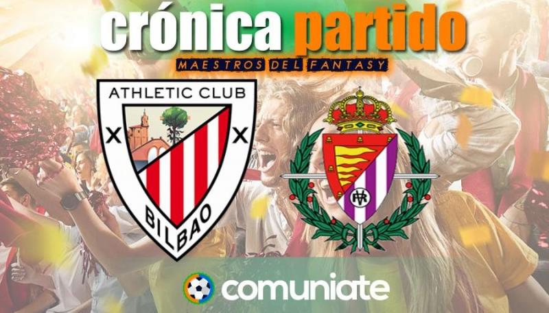 Crónica del partido disputado entre Athletic y Valladolid. Jornada 33.