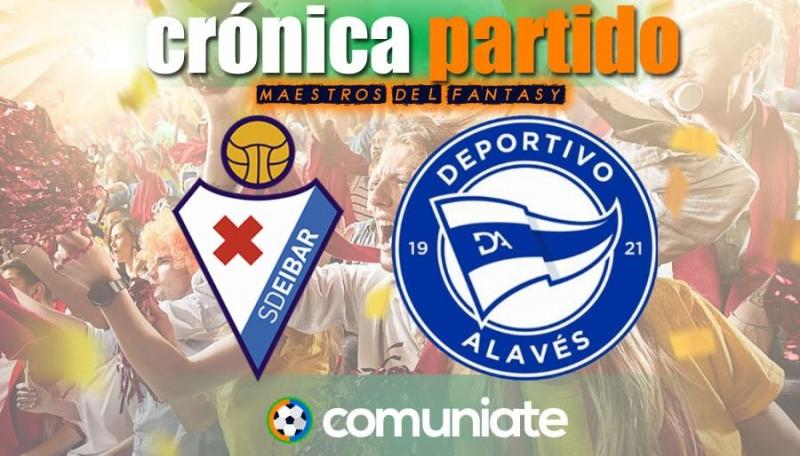 Crónica del partido disputado entre Eibar y Alavés. Jornada 34.