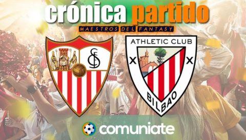 Crónica del partido disputado entre Sevilla y Athletic. Jornada 34.