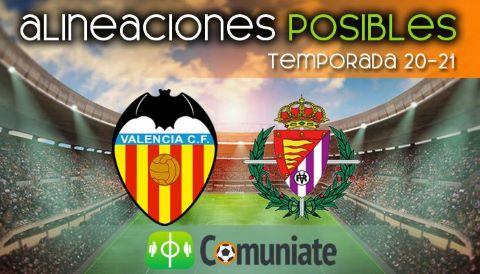 Alineaciones posibles y previa de la Jornada entre Valencia y Valladolid. Jornada 35.