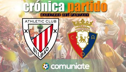Crónica del partido disputado entre Athletic y Osasuna. Jornada 35.