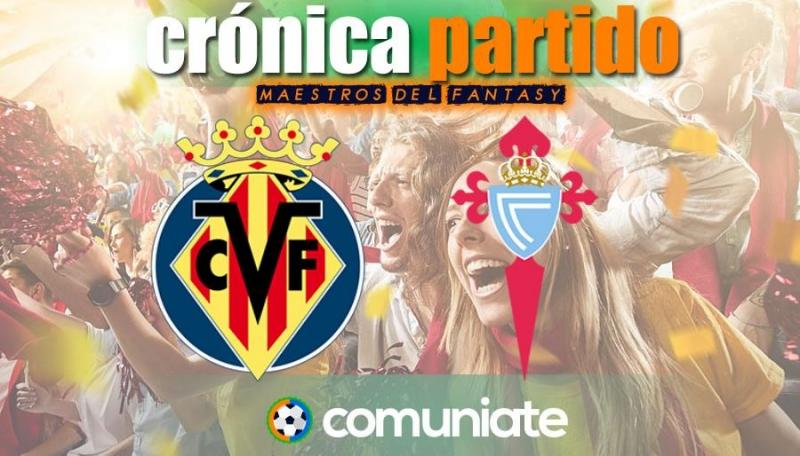 Crónica del partido disputado entre Villarreal y Celta. Jornada 35.