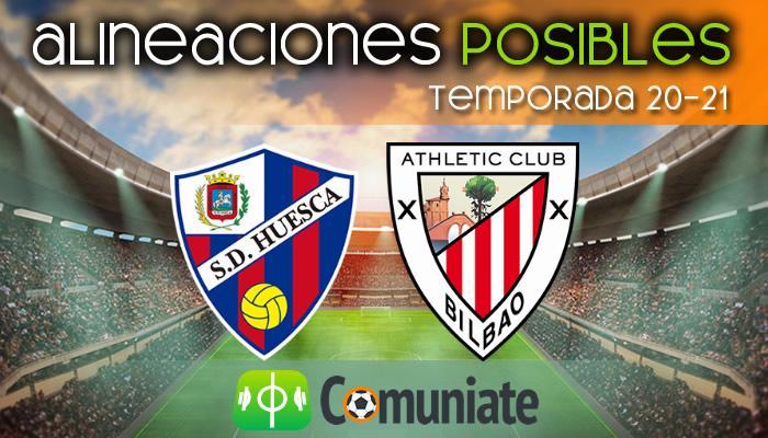Alineaciones posibles y previa de la Jornada entre Huesca y Athletic. Jornada 36.