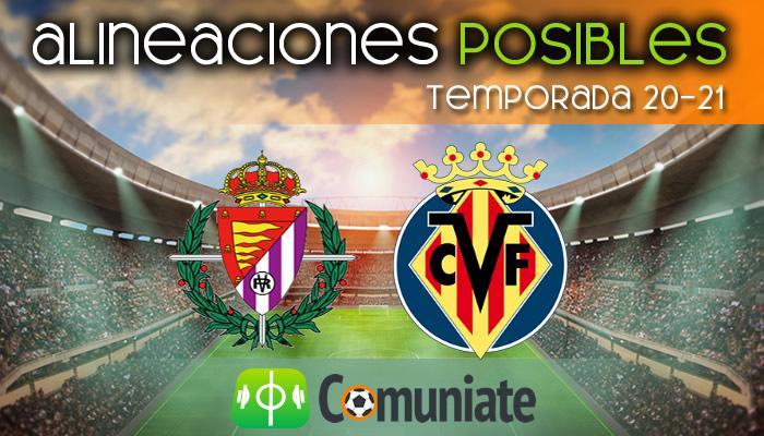 Alineaciones posibles y previa de la Jornada entre Valladolid y Villarreal. Jornada 36.