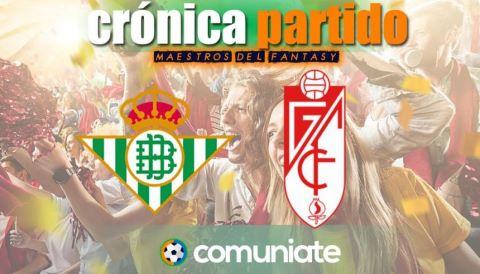 Crónica del partido disputado entre Betis y Granada. Jornada 35.