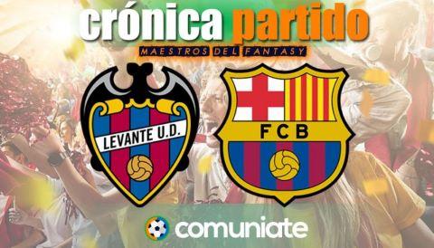 Crónica del partido disputado entre Levante y Barcelona. Jornada 36.