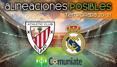 Alineaciones posibles y previa de la Jornada entre Athletic y Real Madrid. Jornada 37.