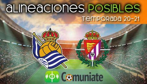 Alineaciones posibles y previa de la Jornada entre Real Sociedad y Valladolid. Jornada 37.