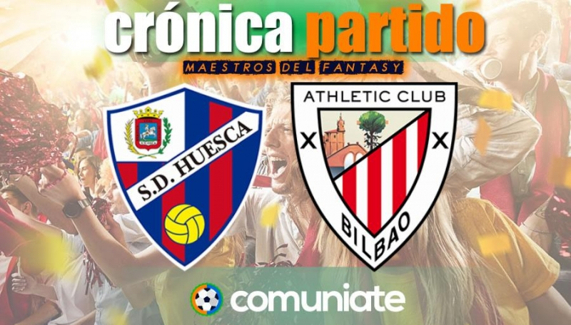 Crónica del partido disputado entre Huesca y Athletic. Jornada 36.