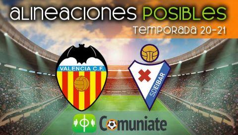 Alineaciones posibles y previa de la Jornada entre Valencia y Eibar. Jornada 37.