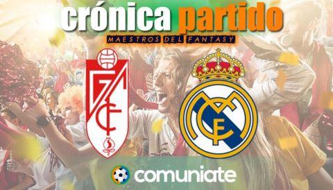 Crónica del partido disputado entre Granada y Real Madrid. Jornada 36.