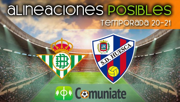 Alineaciones posibles y previa de la Jornada entre Betis y Huesca. Jornada 37.