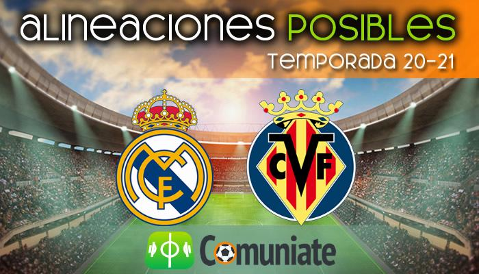 Alineaciones posibles y previa de la Jornada entre Real Madrid y Villarreal. Jornada 38.