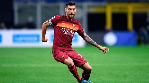 Lorenzo Pellegrini busca consolar al Barcelona