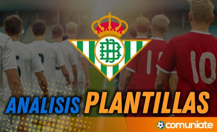 Análisis de la plantilla y recomendables del Real Betis Balompié actualización mercado de fichajes