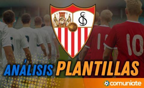 Análisis de la plantilla y recomendables del Sevilla Fútbol Club temporada 21/22.