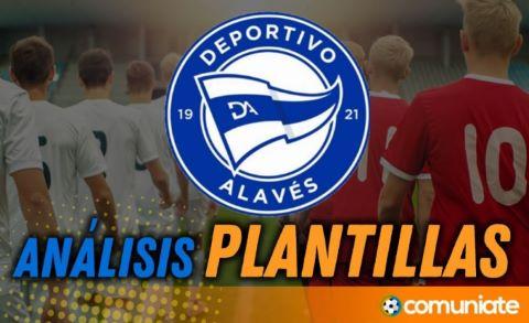 Análisis de la plantilla y recomendables del Deportivo Alavés temporada 21/22 (Actualización mercado de fichajes).