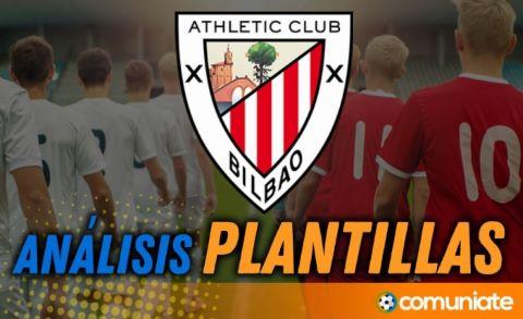 Análisis de la plantilla y recomendables del Athletic Club - Actualización mercado de fichajes