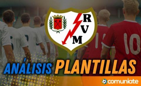 Análisis de la plantilla y recomendables del Rayo Vallecano temporada 21/22 actualización mercado de fichajes.