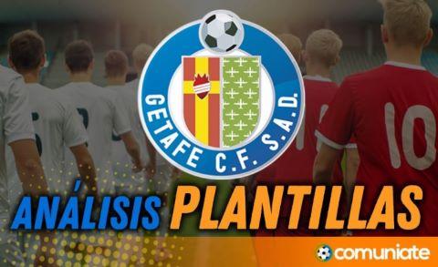 Análisis de la plantilla y recomendables del Getafe C. F. temporada 21/22. Actualización mercado de fichajes