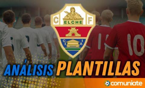 Análisis de la plantilla y recomendables del Elche C.F. temporada 21/22 (Actualización mercado de fichajes)