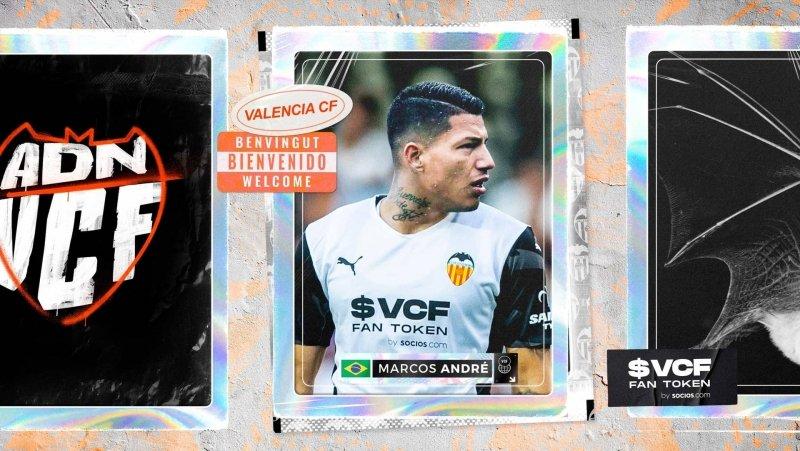 Marcos André es oficialmente nuevo jugador del Valencia