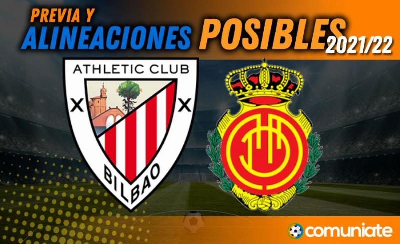Alineaciones posibles y previa de la Jornada entre Athletic y Mallorca. Jornada 4.