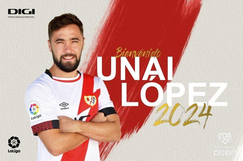 Unai López nuevo fichaje del Rayo Vallecano