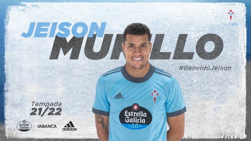 Jeison Murillo regresa al Celta de Vigo