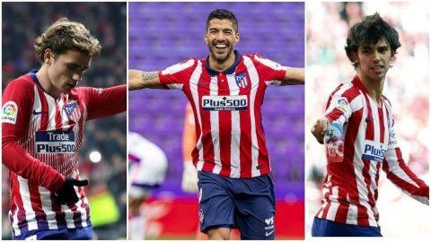 ¡Al ataque!  By Atlético de Madrid ¿Quiénes jugarán más?