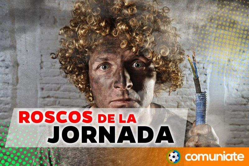 Los roscos de la jornada 5: Claudio Bravo, Gerard Moreno, Gaya, Fidel, Pacheco, Aitor, ...