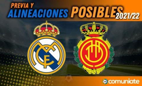 Alineaciones posibles y previa de la Jornada entre Real Madrid y Mallorca. Jornada 6.