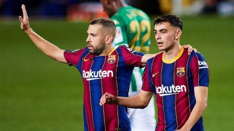 Pedri y Jordi Alba se apuntan para el Atlético