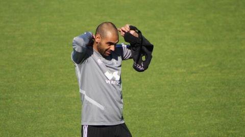 Fali entrena con el grupo ¿Jugará contra el Valencia?