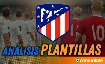 Análisis de la plantilla y recomendables del Atlético de Madrid. (Actualización 2º parón de selecciones)