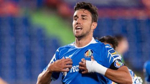 El Getafe pierde a Mata para el partido ante el Levante