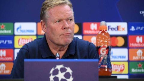 Koeman en rueda de prensa sobre Ansu Fati, Coutinho y los delanteros del equipo.