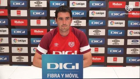 Iraola habla sobre Falcao, Fran García, Saveljich y las posibles rotaciones